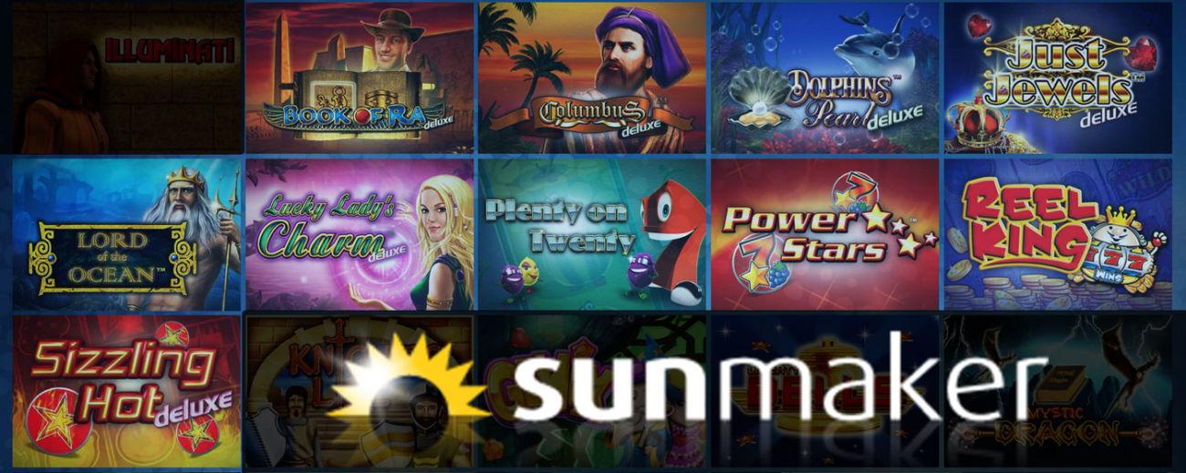 NovoLine Spiele bei Sunmaker
