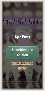 Vorschau des Spiels Spin Party von NetEnt im Cherry Casino