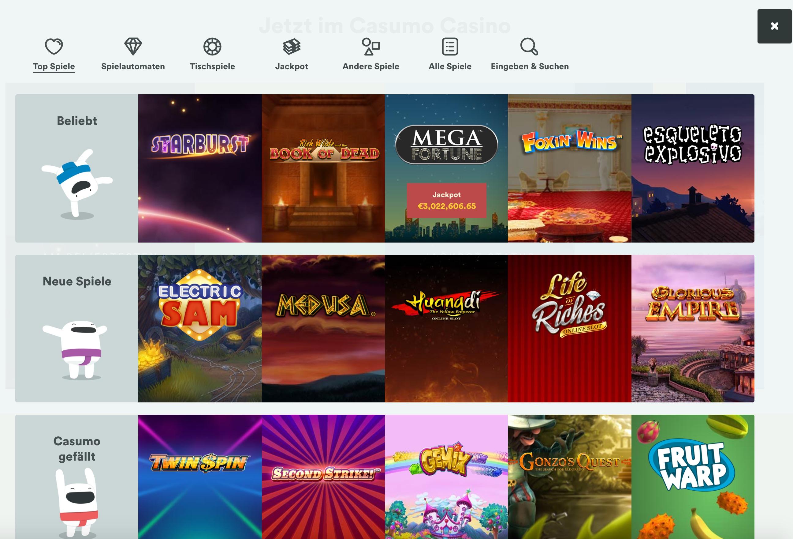 Casumo Casino Testbericht – Wie schlägt sich das aktuell meistgehypte Online Casino?